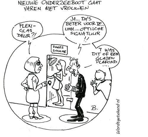 Cartoon Henk Boomstra