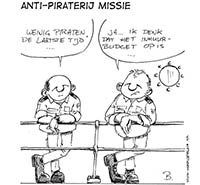 anti-piraterij missie