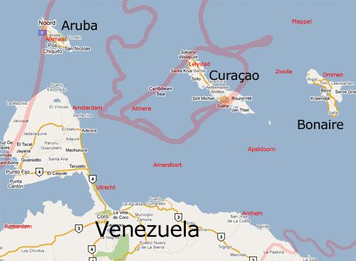 bonaire curacao Aruba
