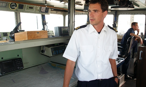 zomer uniform officieren marine (Foto: marineschepen.nl)