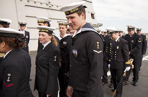 tenue 6 marine