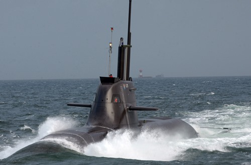 U Boot Walrus Klasse Duitsland en Frankrijk...