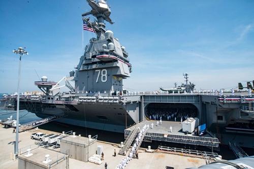 US NAVY USN aircraft carrier USS Enterprise CVN 65 missile RIM-7 8X12 PHOTO