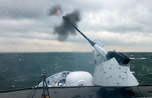 New Dutch naval vessel HNLMS Karel Doorman Marlin-friesland