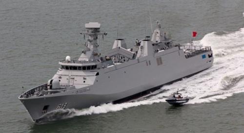"""البحرية الملكية المغربية تتسلم فرقاطة """"طارق بن زياد"""" من فئة سيغما  Sigma-marokko2"""