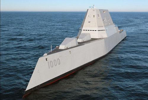 Zumwalt destroyer